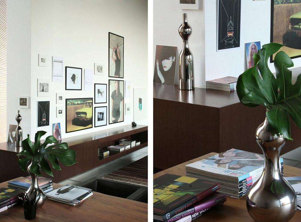 Office, FF House, Brazil by Studio Guilherme Torres
