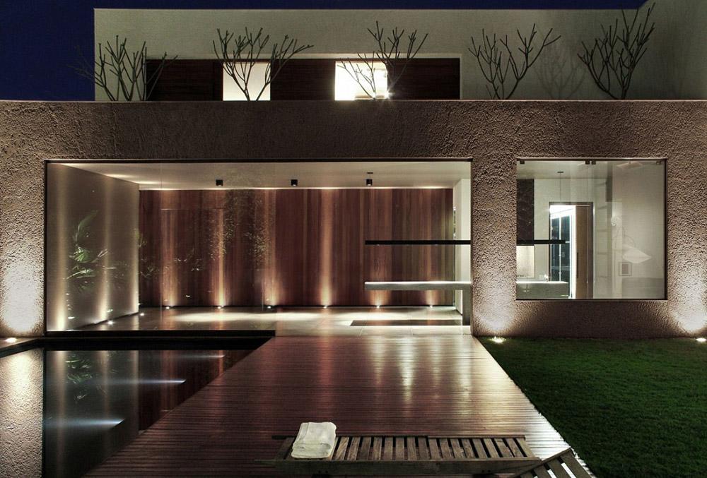 Pool & Terrace, FF House, Brazil by Studio Guilherme Torres
