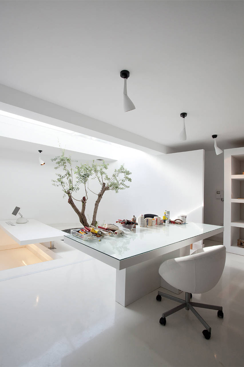 Studio, H2 Residence, Athens by 314 Architecture Studio