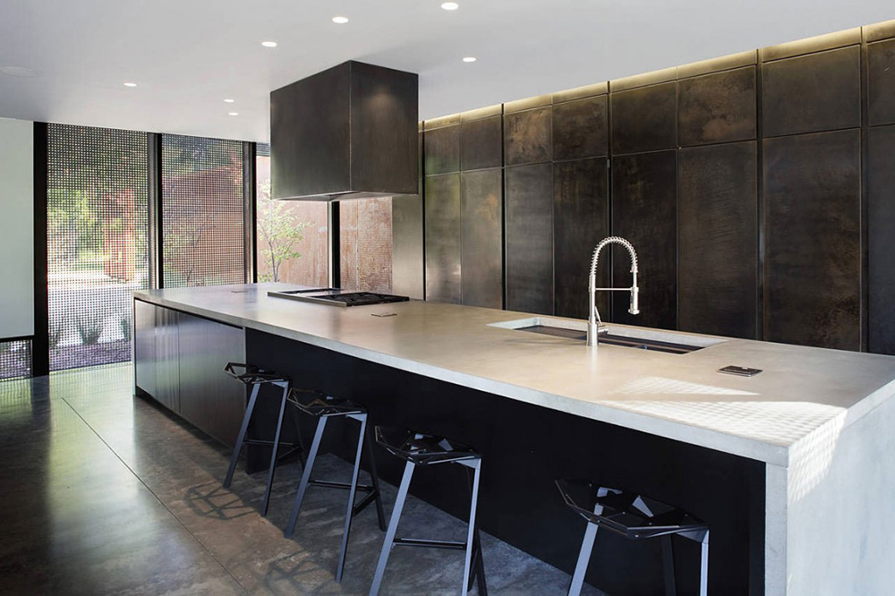 Kitchen, Heavy Metal Residence, Missouri by Hufft Projects