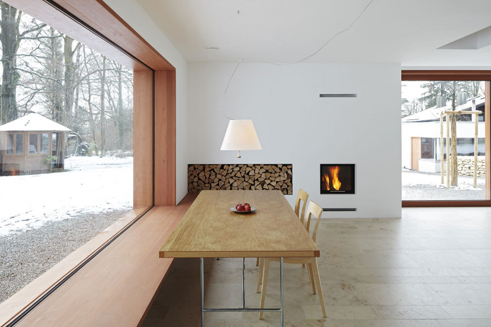 Dining, House 11 x 11, Munich by Titus Bernhard Architekten