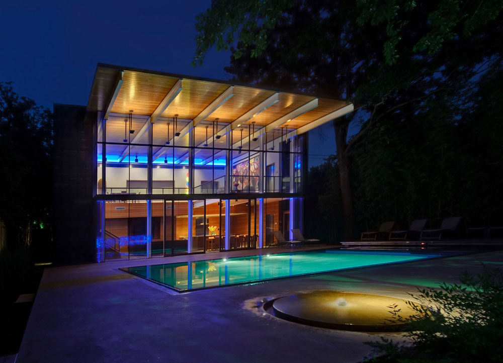 House in the Garden, Dallas, Texas by Cunningham Architects