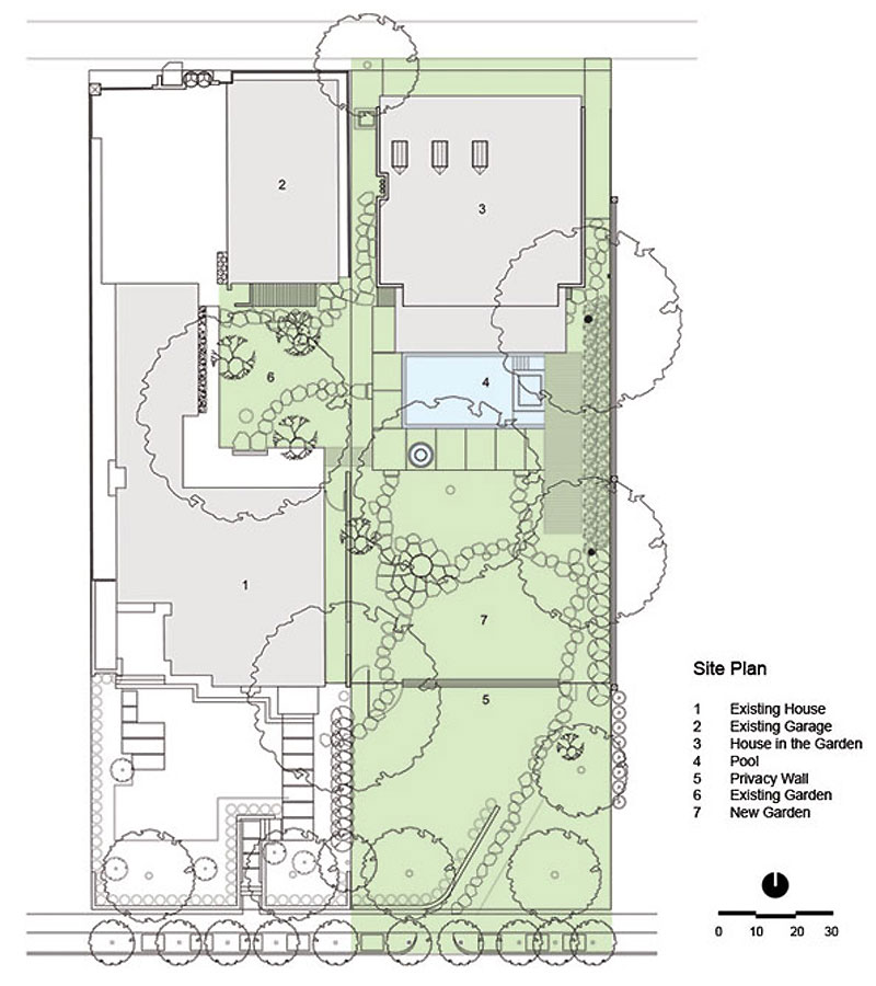 Japanese garden design plans for small land spacious land for Site plan design