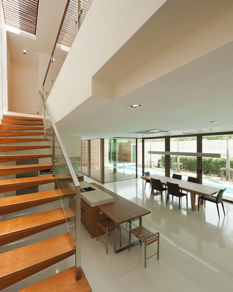 Open Plan Living, L71 House, Bangkok, by OFFICE [AT]