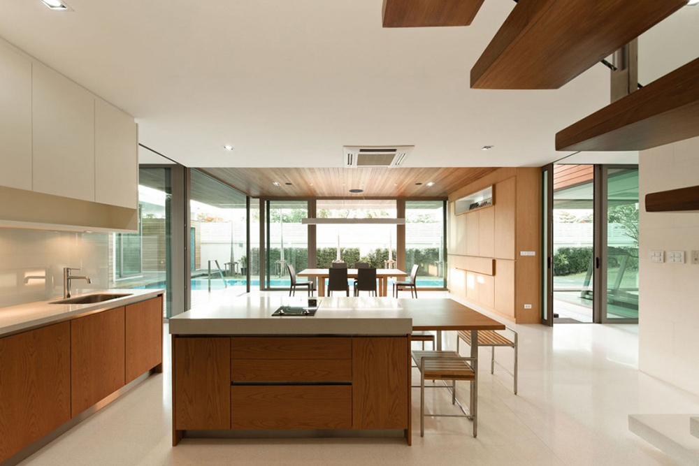 Kitchen, L71 House, Bangkok, by OFFICE [AT]