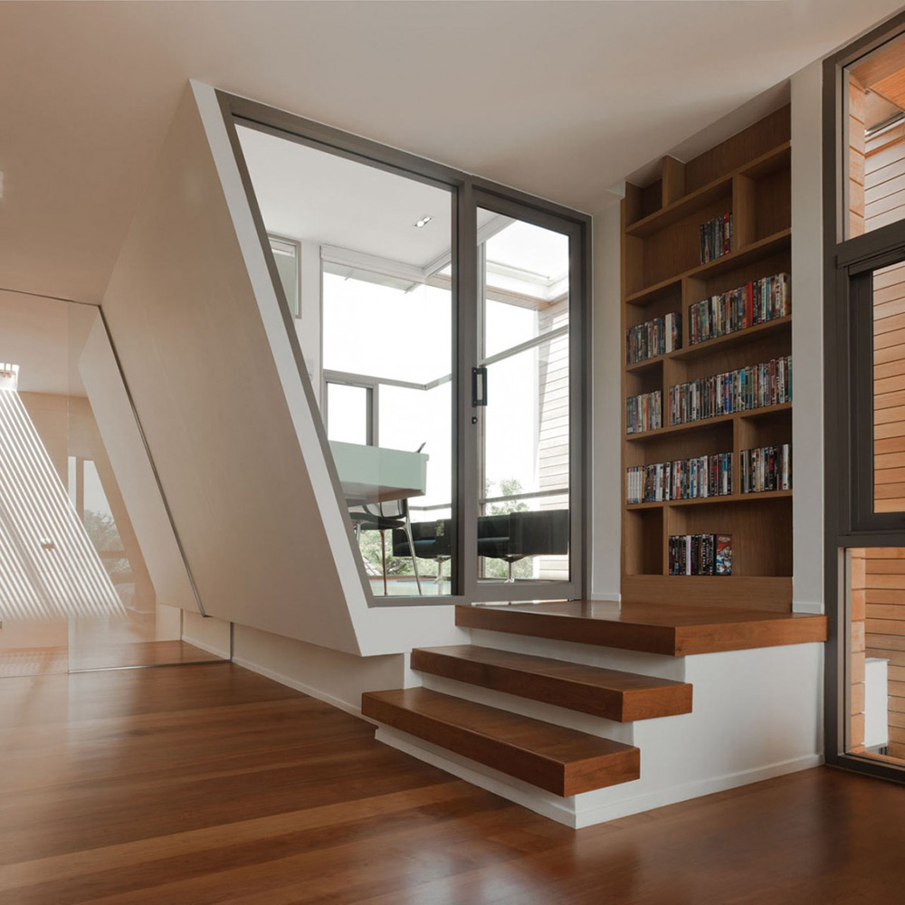 Living Space, Media Shelf, L71 House, Bangkok, by OFFICE [AT]