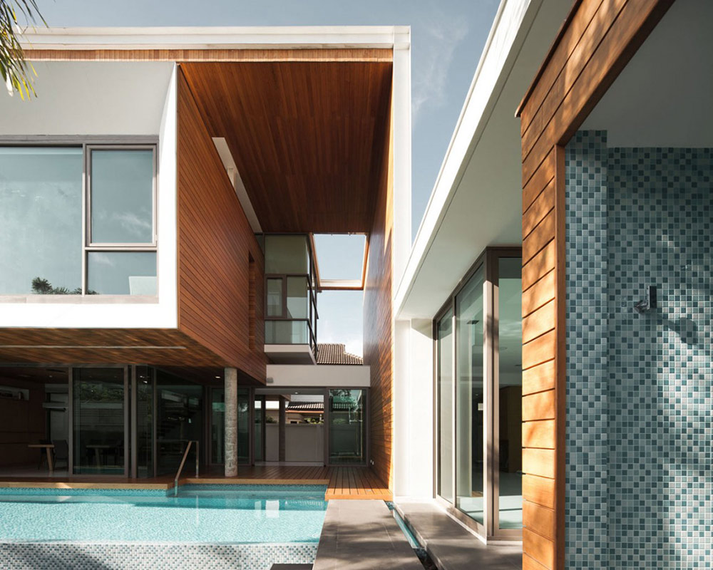 Pool, L71 House, Bangkok, by OFFICE [AT]