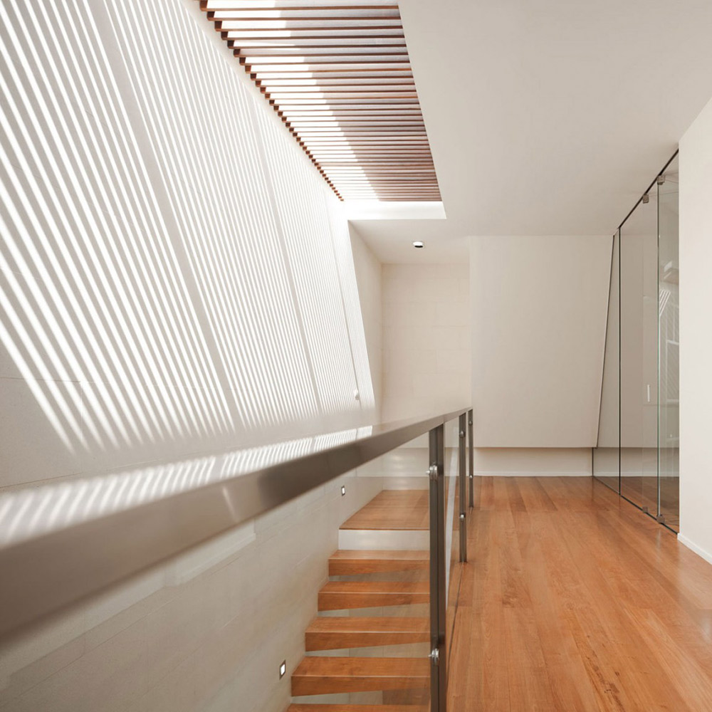 Stairs, Hall, L71 House, Bangkok, by OFFICE [AT]