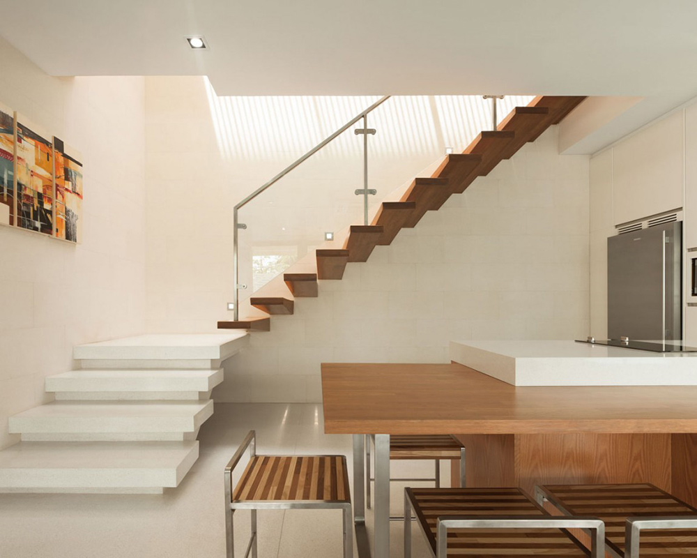 stairs kitchen l71 house bangkok by office at