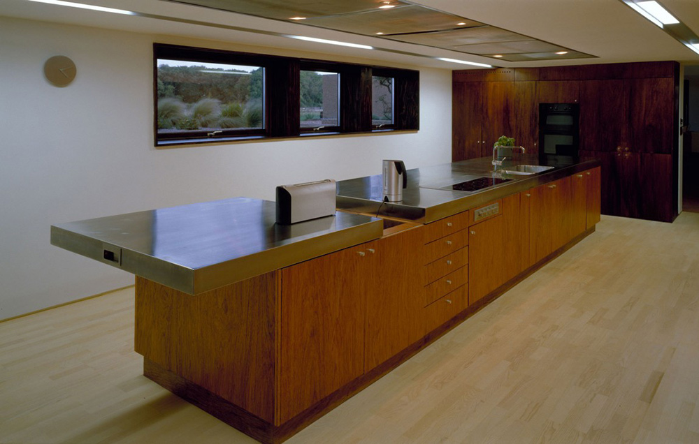 Kitchen, The Long Barn by Nicolas Tye Architects