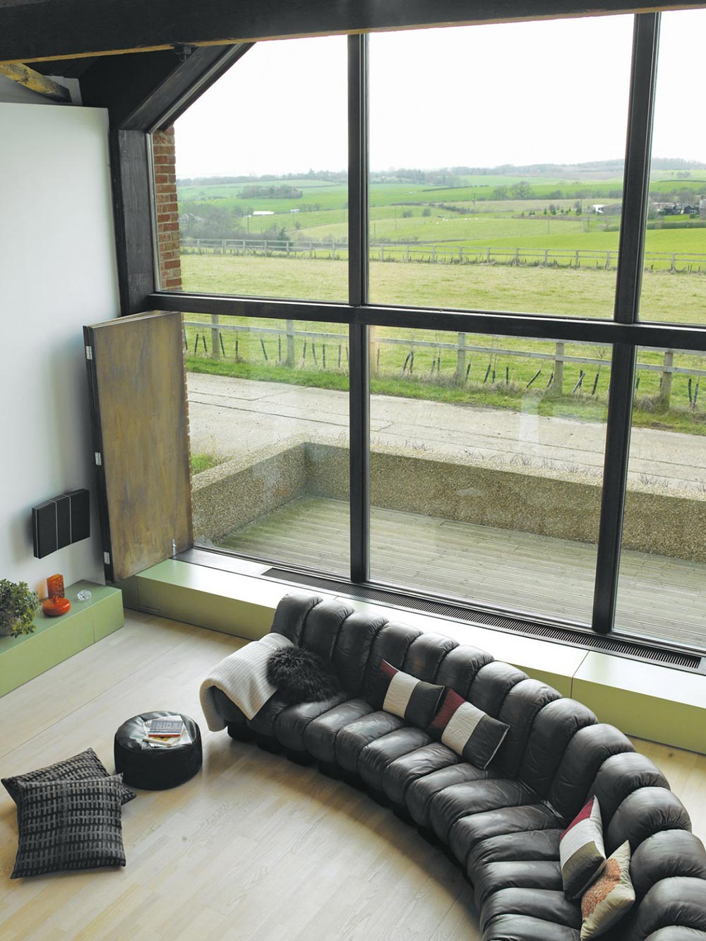 Living Space, The Long Barn by Nicolas Tye Architects