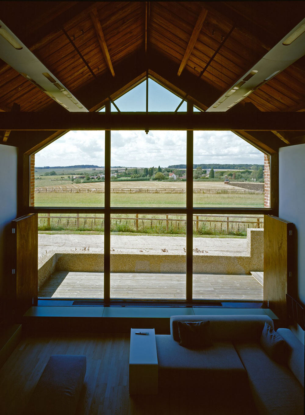 View, The Long Barn by Nicolas Tye Architects