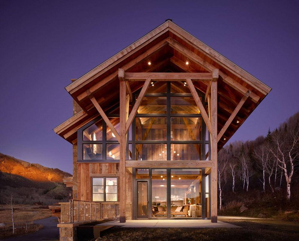 Reed Residence, Colorado by Robert Hawkins Architects
