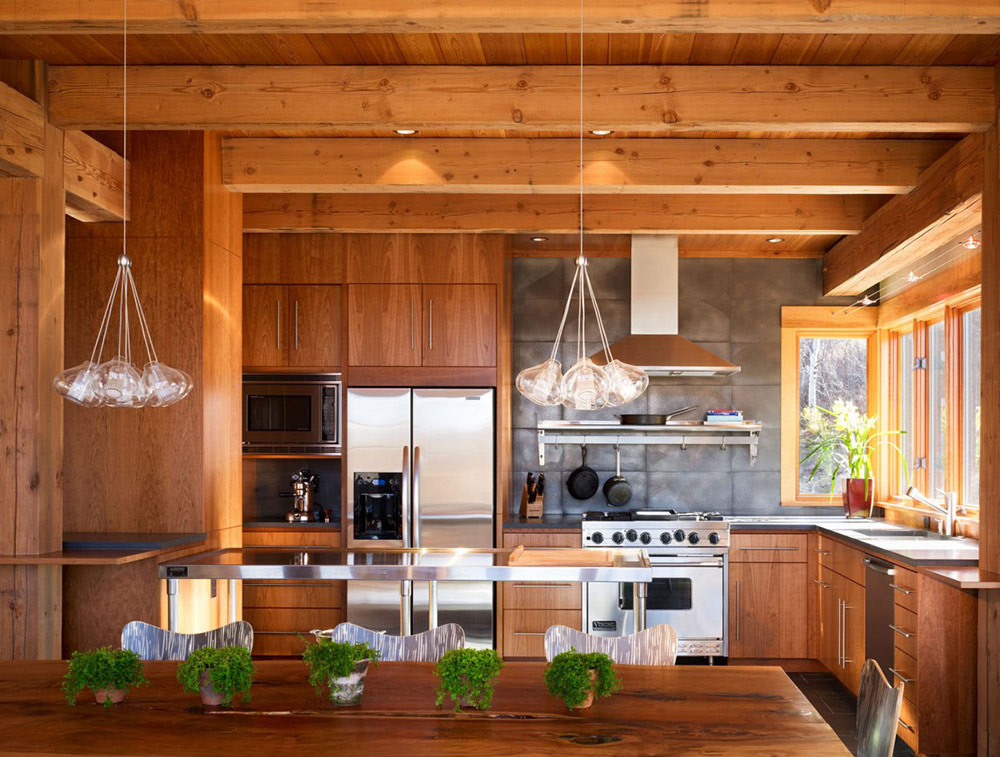 Kitchen, Reed Residence, Colorado by Robert Hawkins Architects