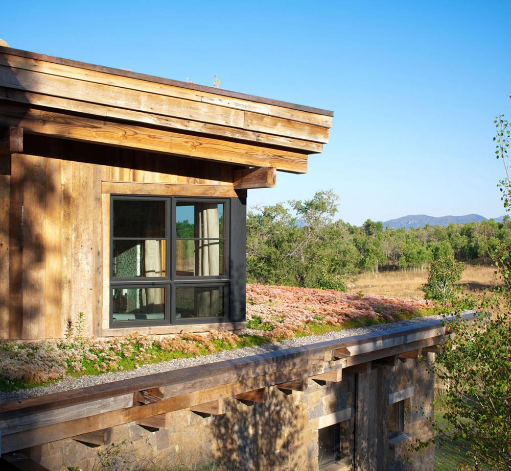 Living Roof, Reed Residence, Colorado by Robert Hawkins Architects