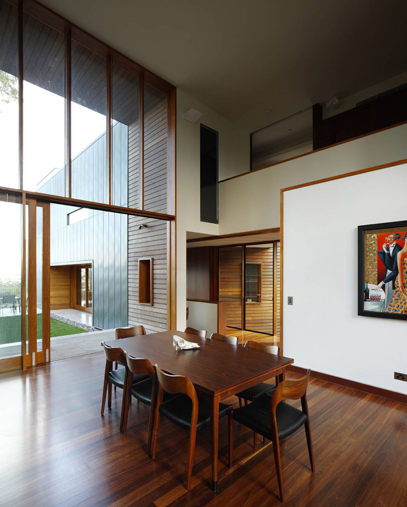Dining, Rosalie Residence, Brisbane by Richard Kirk Architects