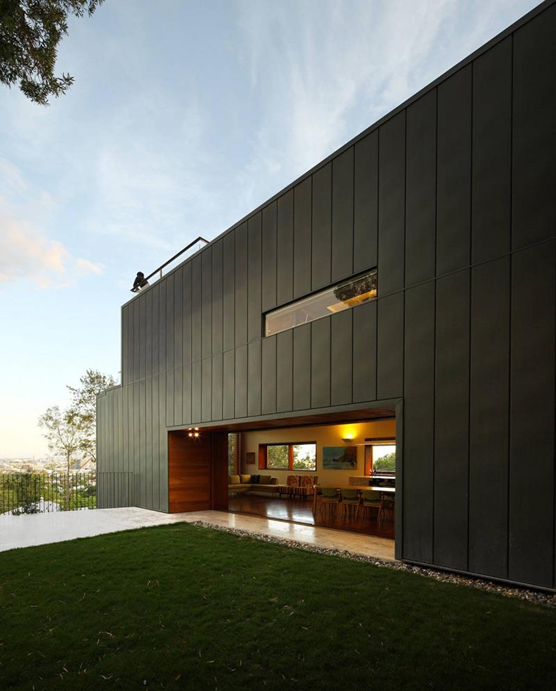 Terrace, Rosalie Residence, Brisbane by Richard Kirk Architects