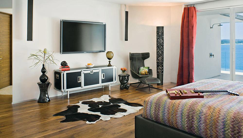 Bedroom, Acquavilla Residence, Lake Travis, Texas