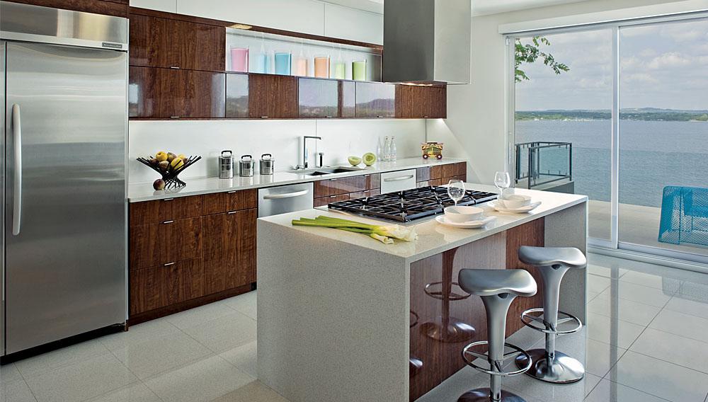 Kitchen, Acquavilla Residence, Lake Travis, Texas