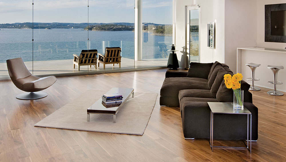 Living Space, Acquavilla Residence, Lake Travis, Texas