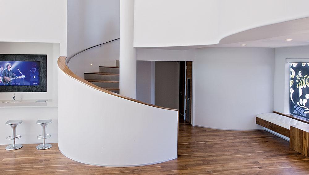 Spiral Staircase, Acquavilla Residence, Lake Travis, Texas