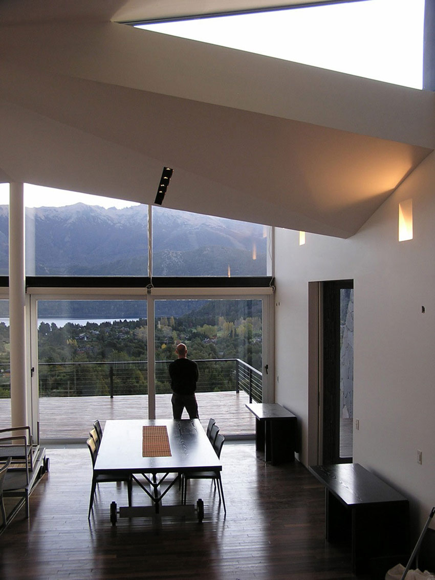 Dining, Casa S, Mountain House in Argentina by Alric Galindez Architects