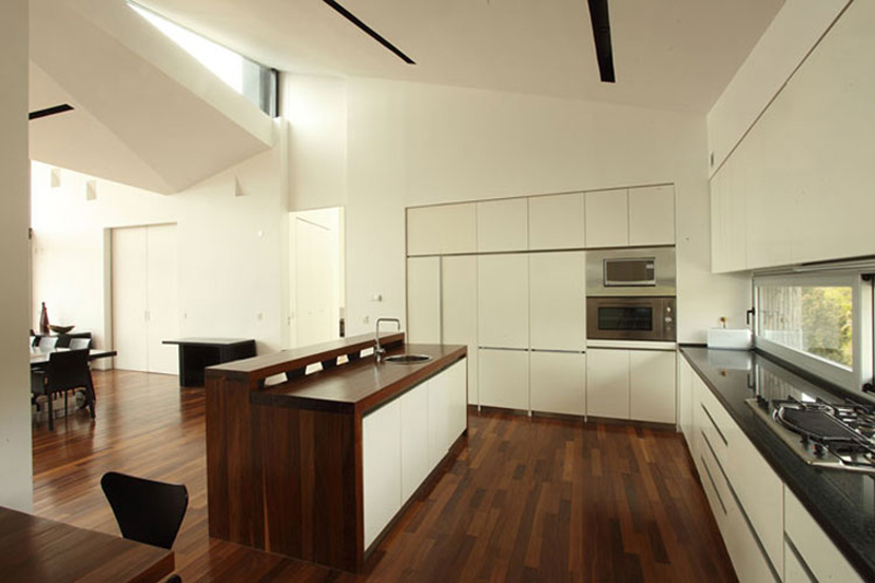 Kitchen, Casa S, Mountain House in Argentina by Alric Galindez Architects