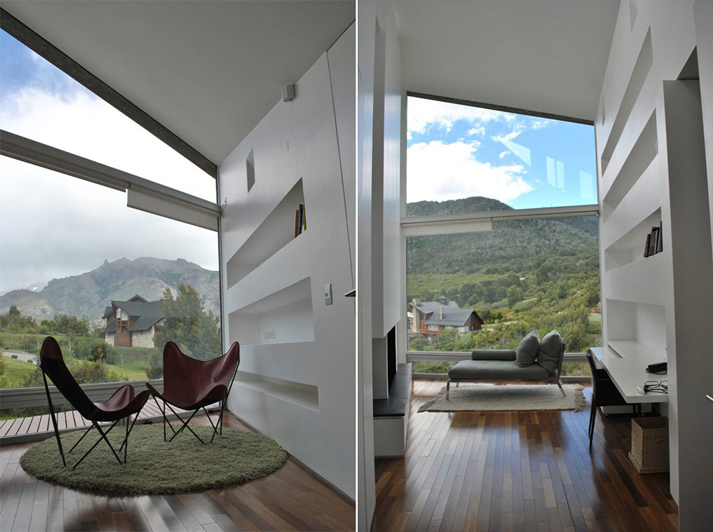 Office, Casa S, Mountain House in Argentina by Alric Galindez Architects