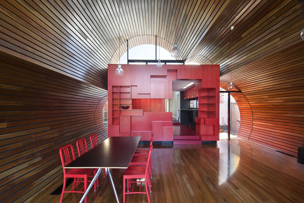 Dining & Kitchen, Cloud House, Melbourne by McBride Charles Ryan