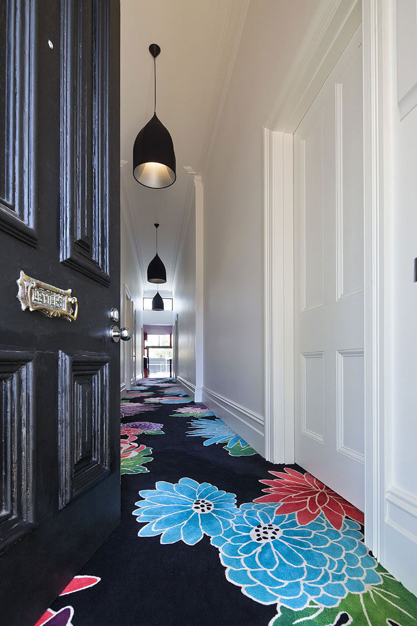Entrance, Flowery Carpet, Cloud House, Melbourne by McBride Charles Ryan