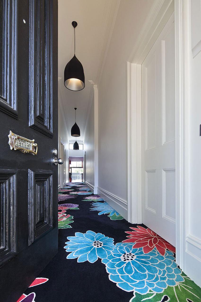 Entrance, Flowery Carpet, Cloud House, Melbourne by McBride Charles Ryan