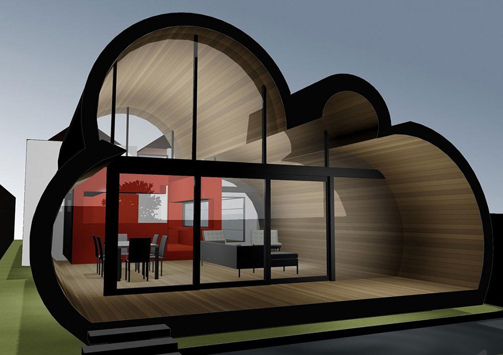Rendering, Cloud House, Melbourne by McBride Charles Ryan