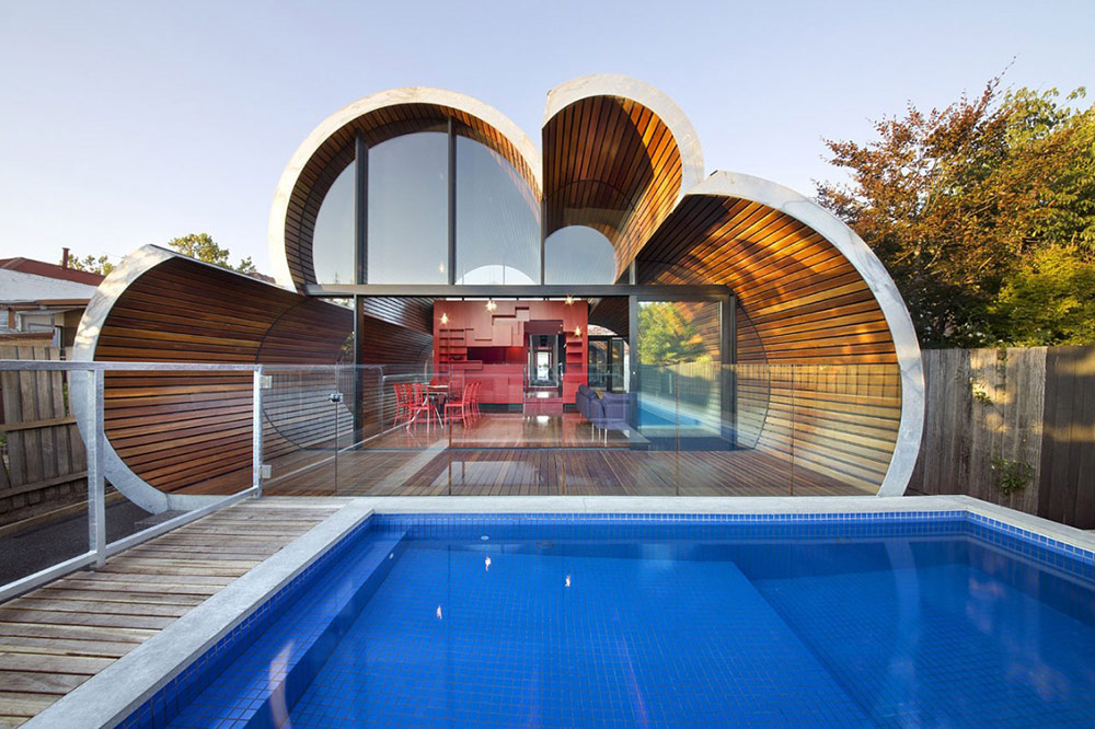 Pool, Cloud House, Melbourne by McBride Charles Ryan