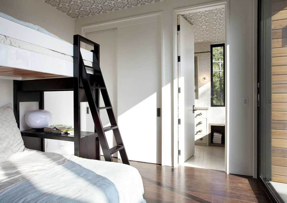 Bunk Bed, Hillside House, California by SB Architects