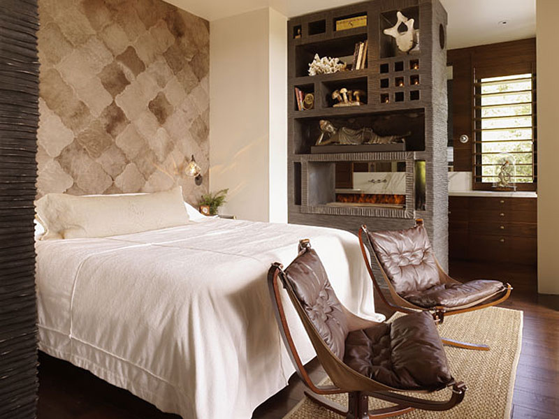 Bedroom, Hillside House, California by SB Architects
