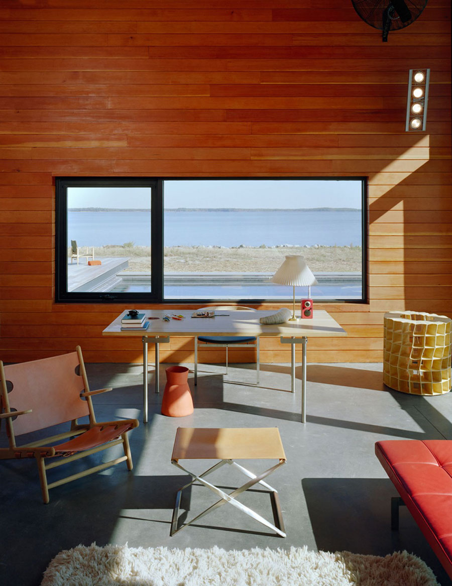 Art Studio, Hoopers Island Residence, Maryland by David Jameson Architect