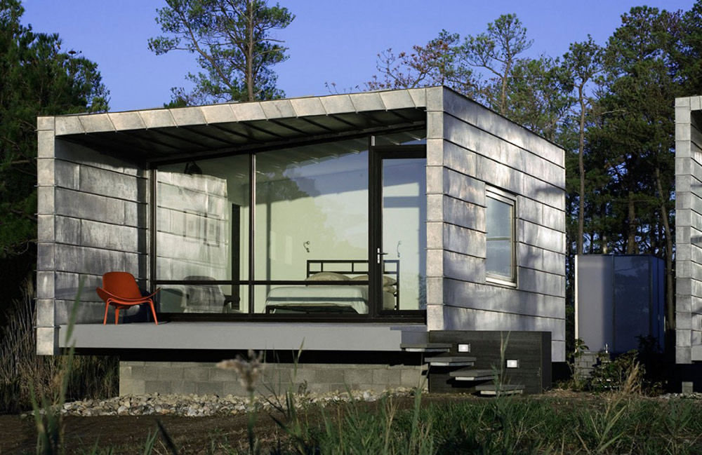 Master Cabin, Hoopers Island Residence, Maryland by David Jameson Architect
