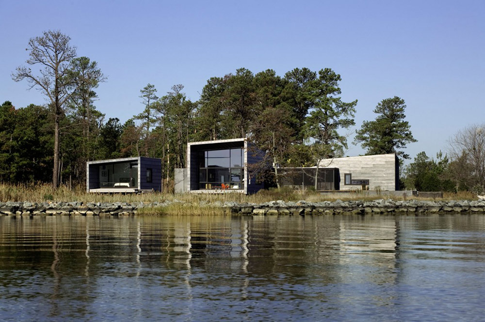 Hoopers Island Residence, Maryland by David Jameson Architect