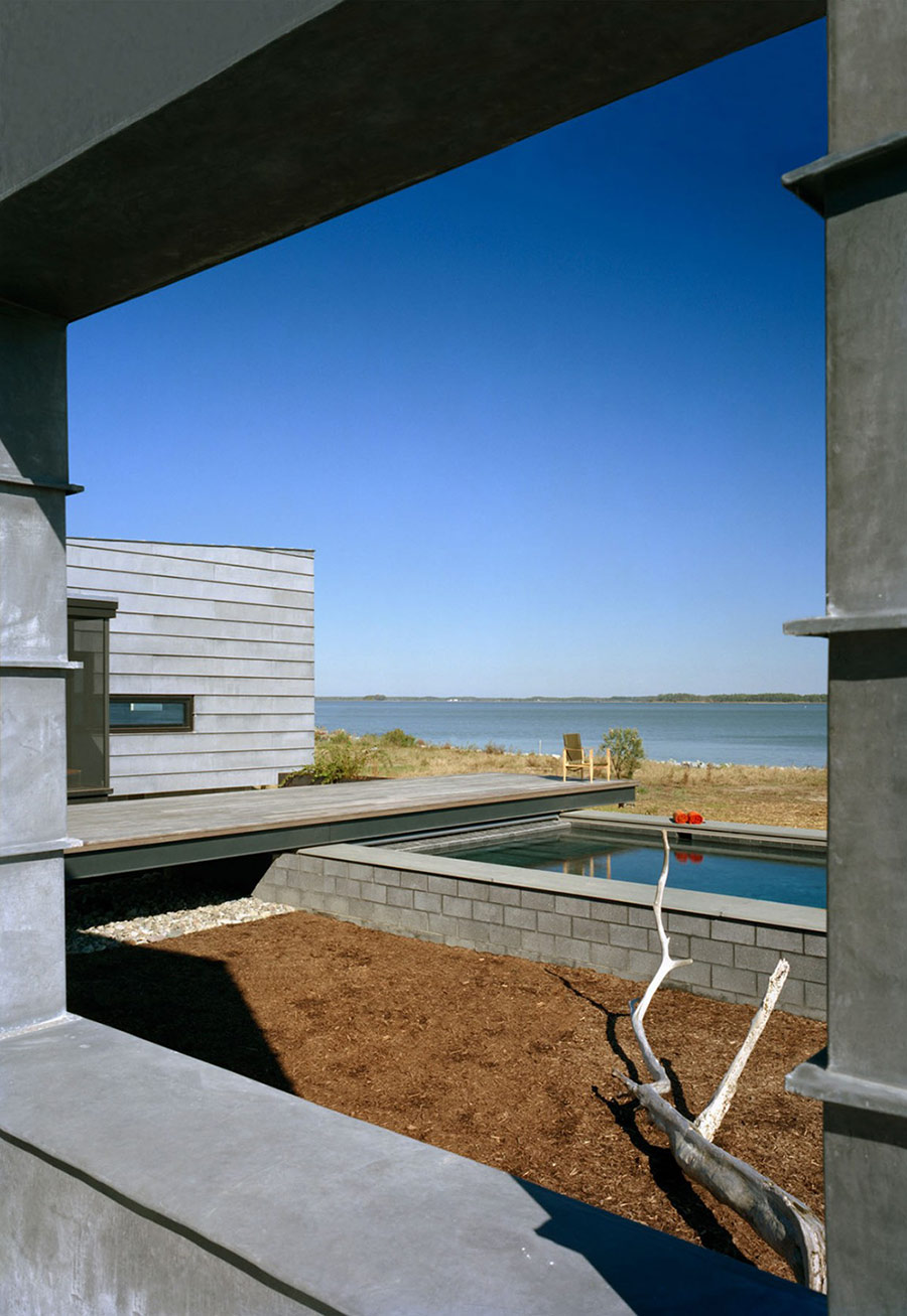 Pool, Hoopers Island Residence, Maryland by David Jameson Architect