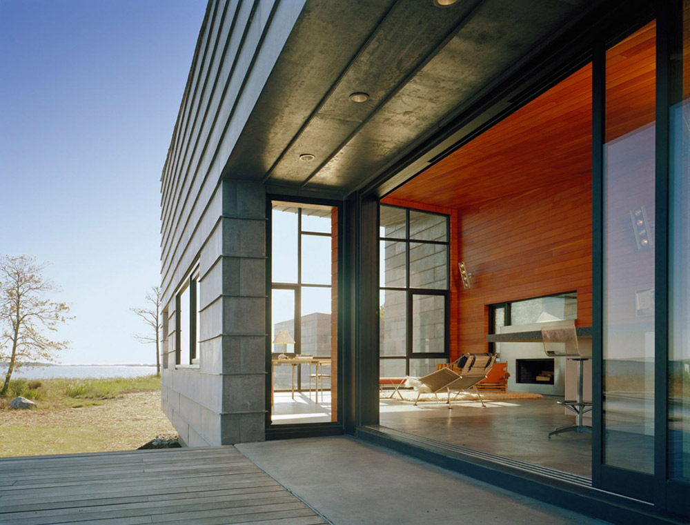 Terrace, Hoopers Island Residence, Maryland by David Jameson Architect