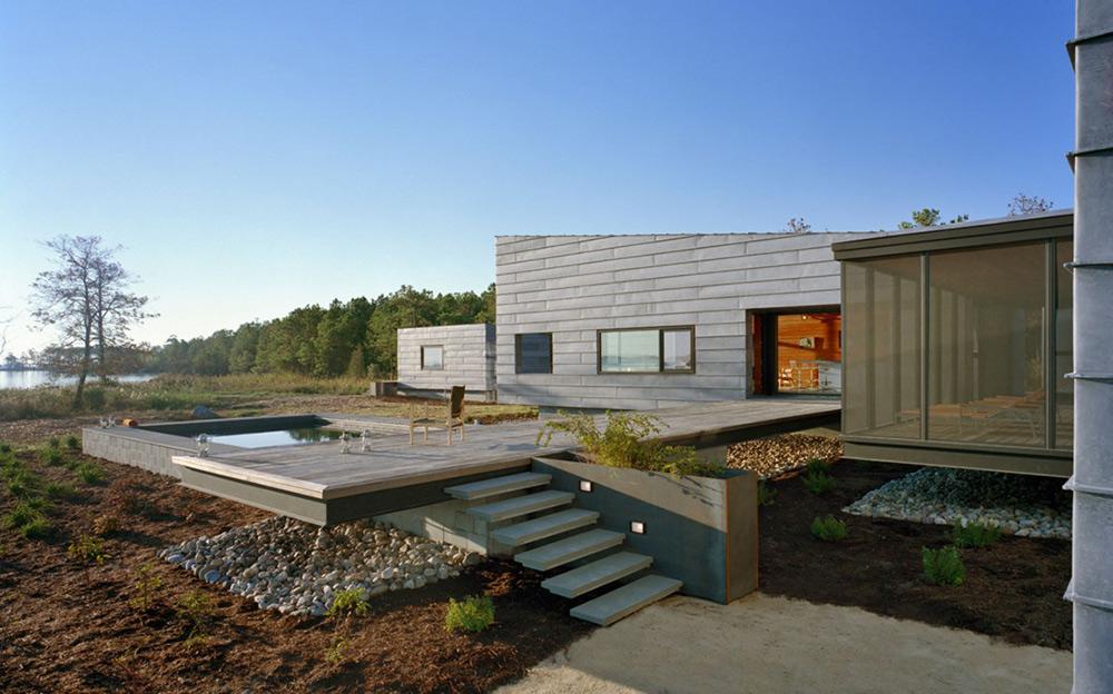 Terrace & Pool, Hoopers Island Residence, Maryland by David Jameson Architect