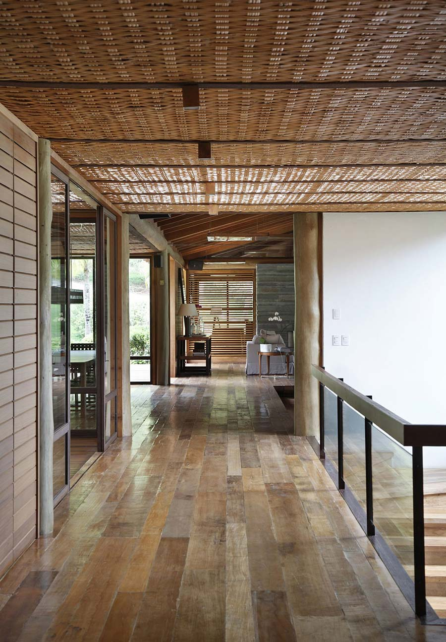 Hall, House in Itaipava, Brazil by Cadas Architecture