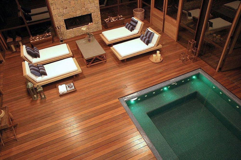 Indoor Pool, Spa, House in Itaipava, Brazil by Cadas Architecture