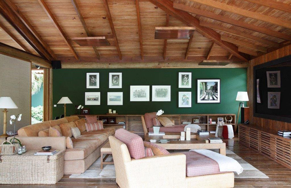 Living Room, House in Itaipava, Brazil by Cadas Architecture