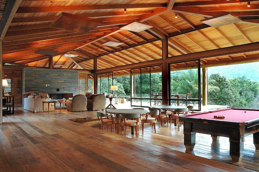 Living Space, House in Itaipava, Brazil by Cadas Architecture
