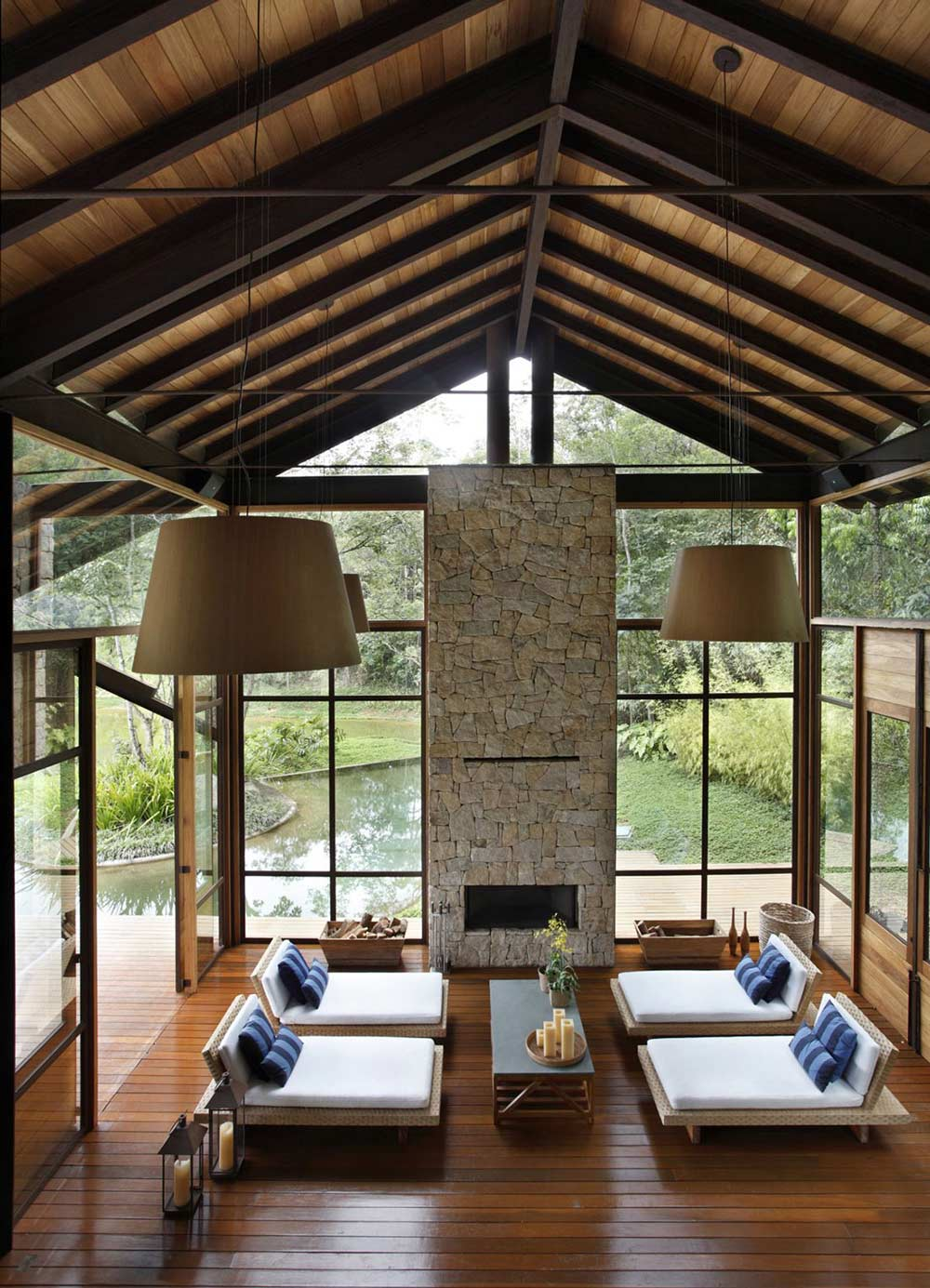 Spa, House in Itaipava, Brazil by Cadas Architecture