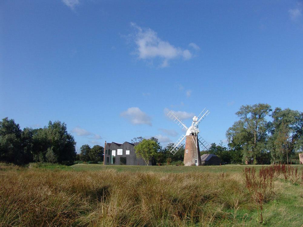 Windmill, Hunsett Mill, Norfolk, England by Acme