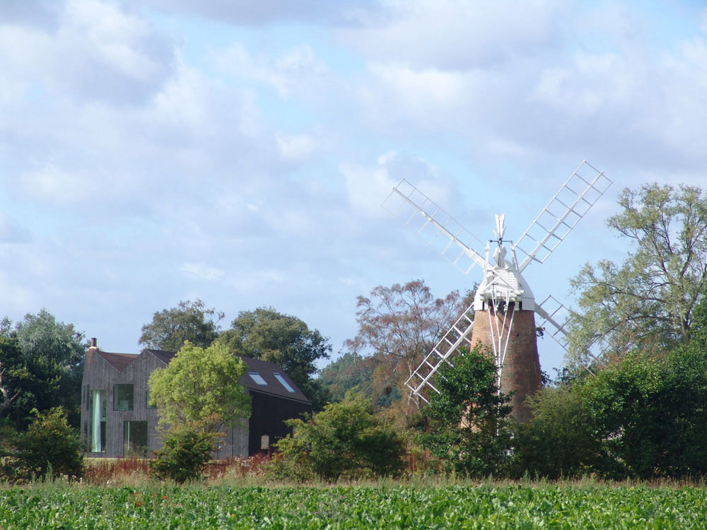 Windmill, Hunsett Mill, Norfolk, England by Acme
