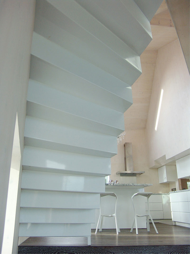 Kitchen, Stairs, Hunsett Mill, Norfolk, England by Acme