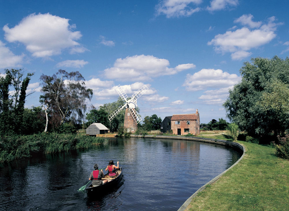 Hunsett Mill, Norfolk, England by Acme